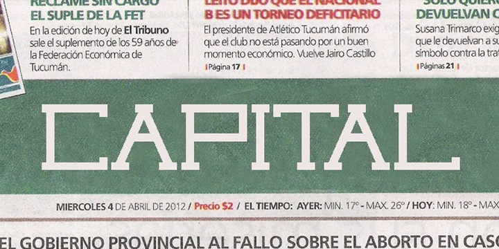Capital font