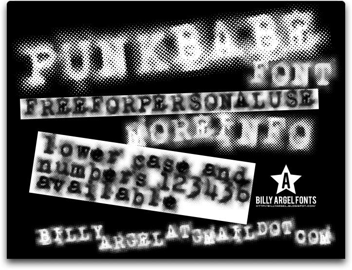 Punkbabe font