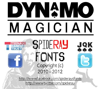 Dynamo Magician font
