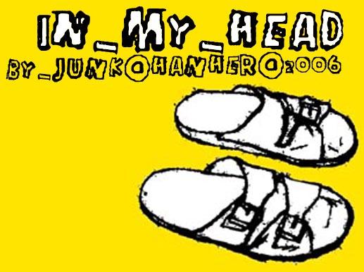 In my head font