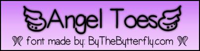 [Angel Toes] font