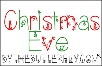 Christmas Eve font
