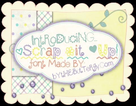 +Scrap =it *Up! font