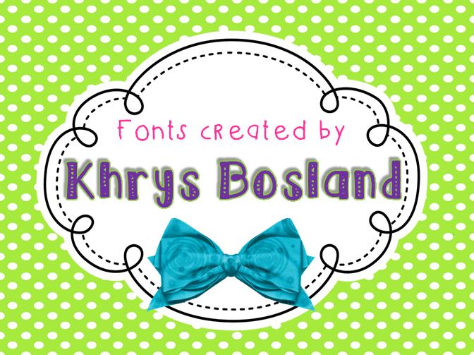 KB Sunshine font