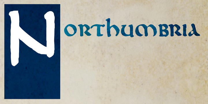 DK Northumbria font