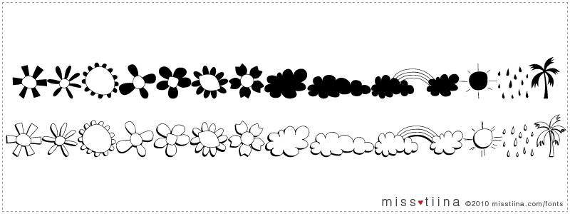 MTF Vecbat font