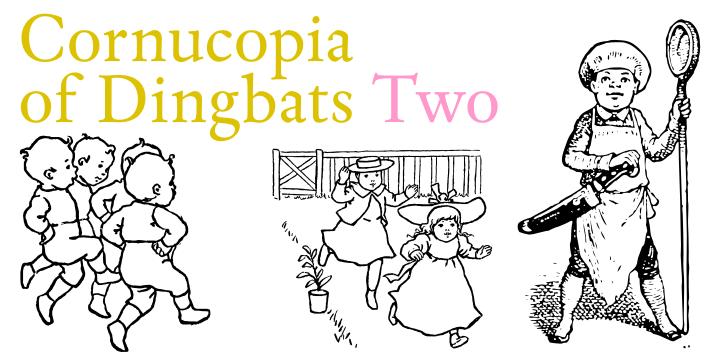 Cornucopia of Dingbats font