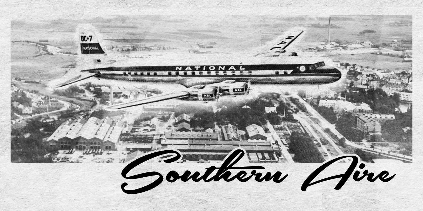 Southern Aire font