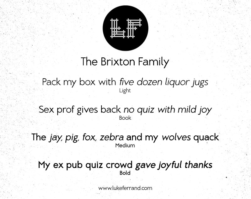 Brixton font