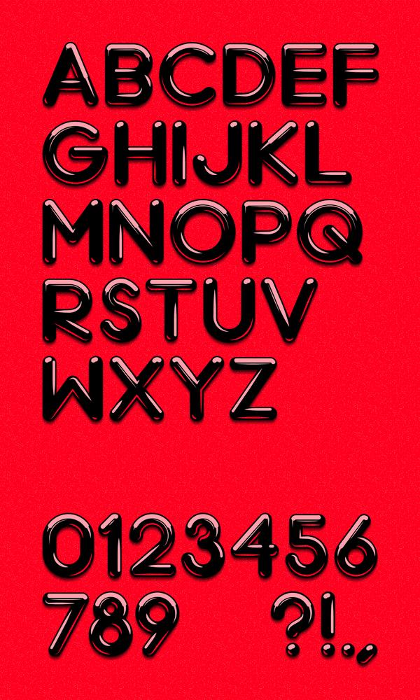 Chrome font