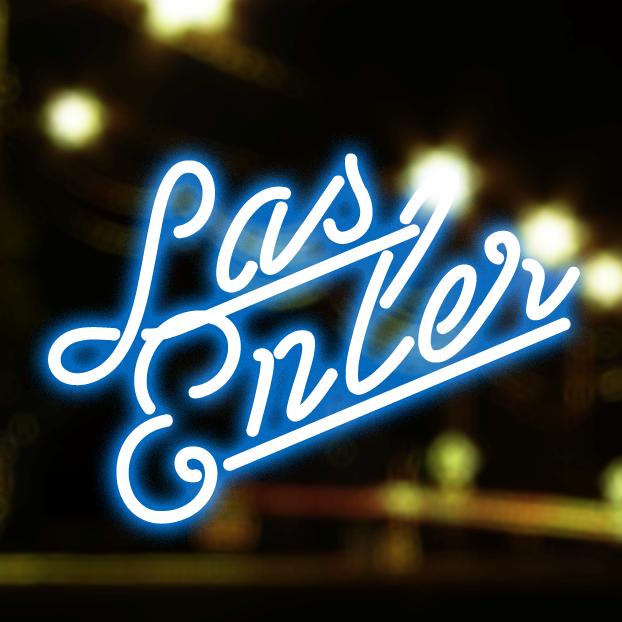 Las Enter font