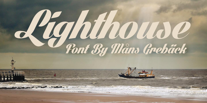 Light House font