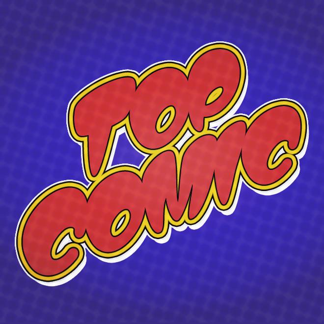 Top Comic font