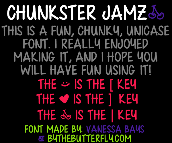 Chunkster Jam font