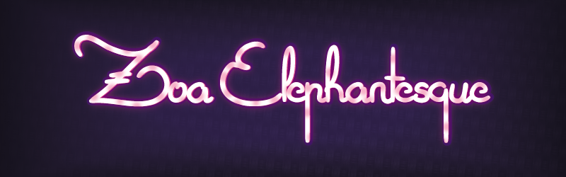 Oa elephantesque font