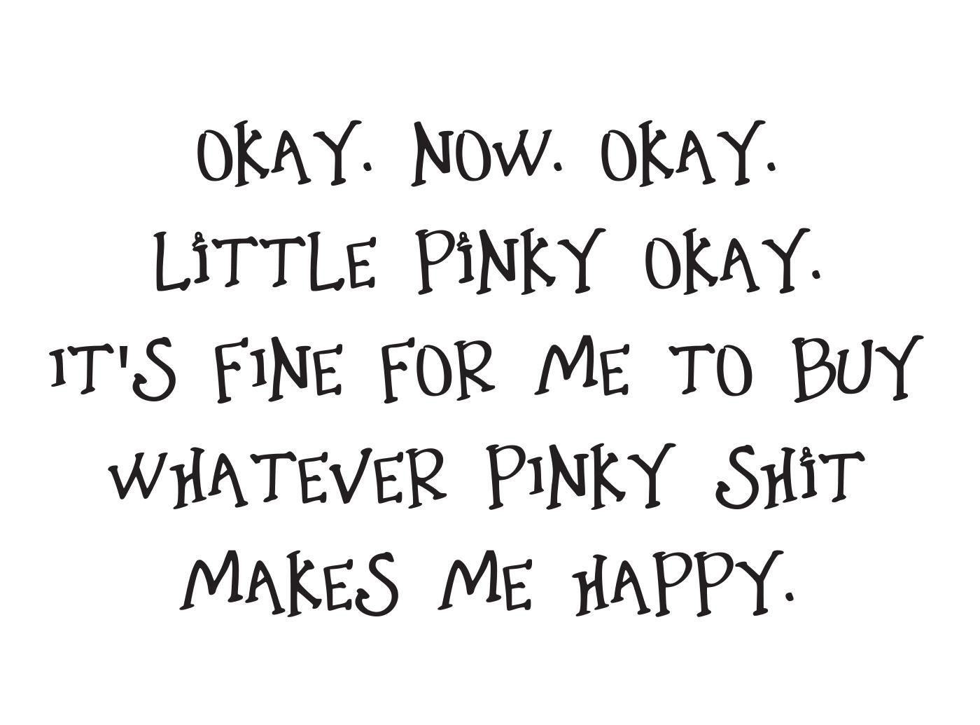 Little Pink Shit font