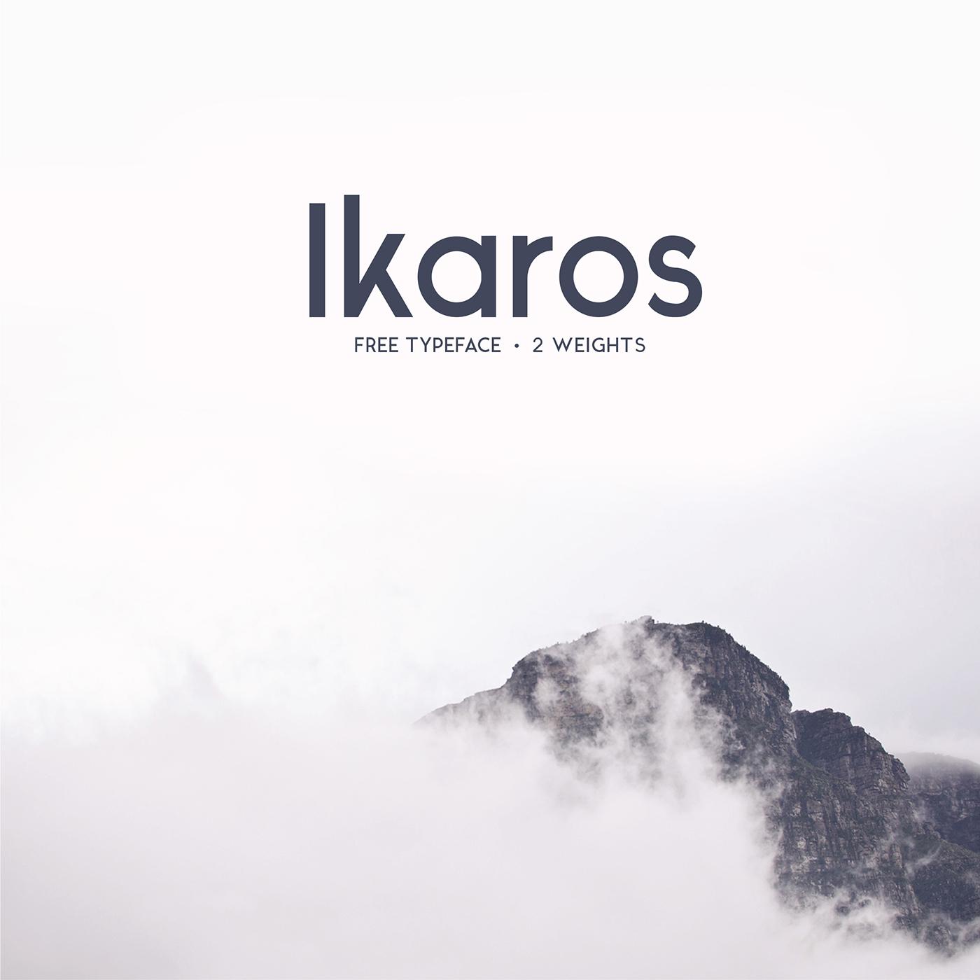 Ikaros Sans font