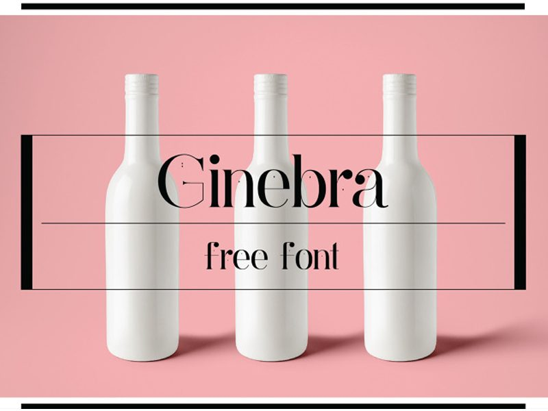 Ginebra Regular font