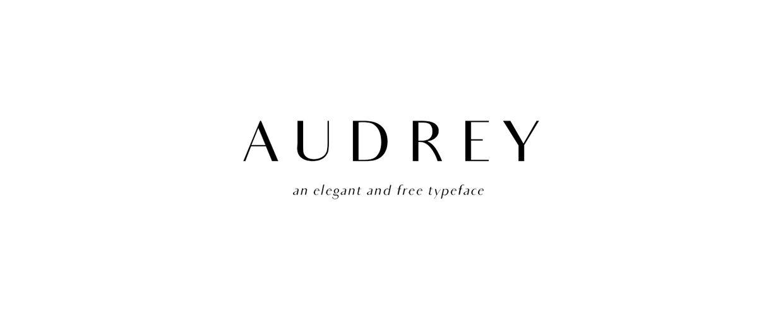Audrey Normal font