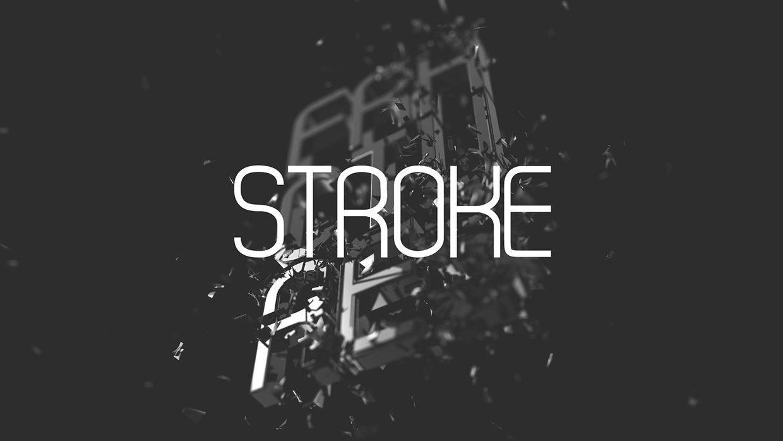 Stroke-Bold font