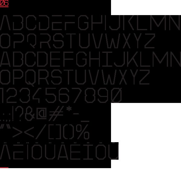 LITTLE_SPACE font