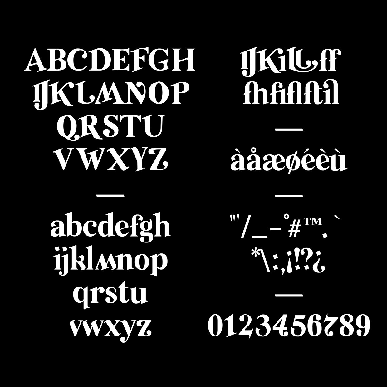 Relic-Regular font
