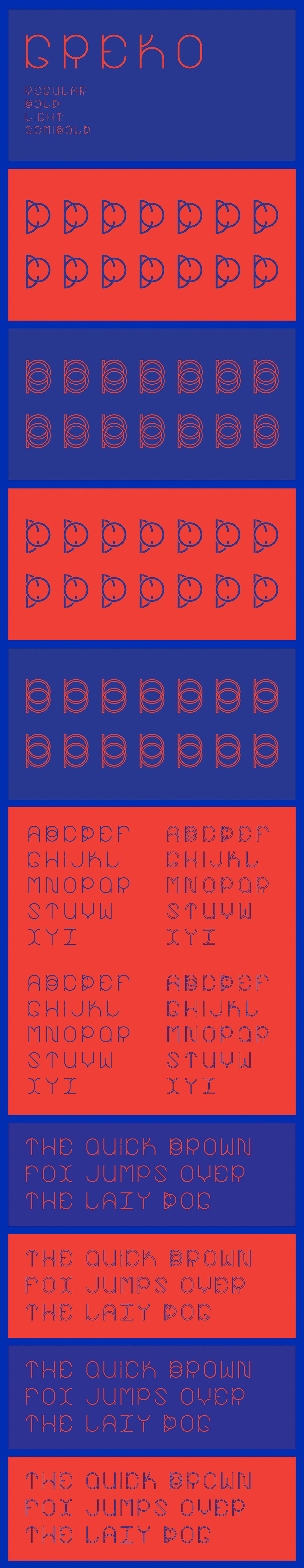 Greko SemiBold font