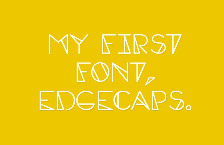 EdgeCaps-Regular font
