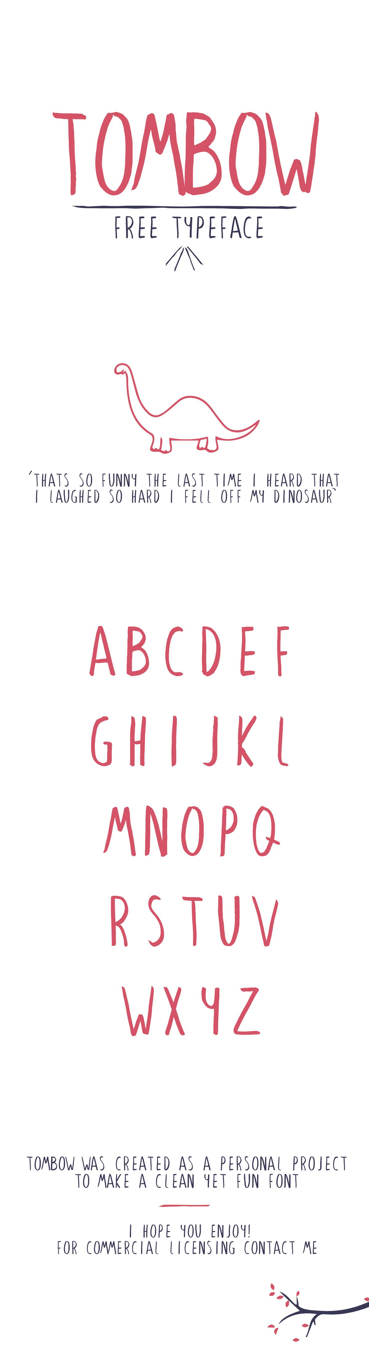 tombow font