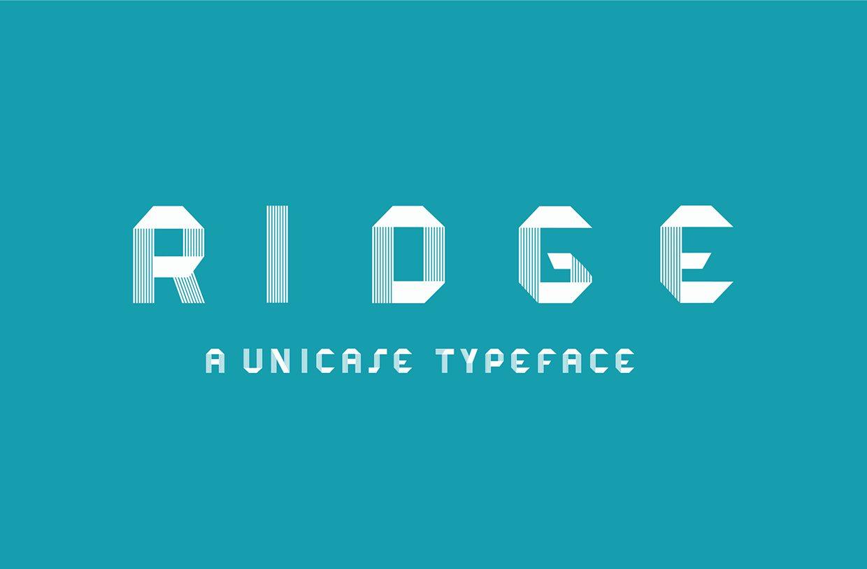 Ridge-Regular font