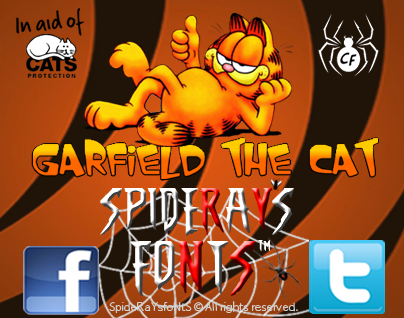 Garfield the Cat font