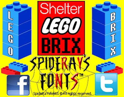 Lego Brix font