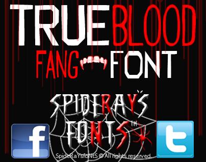 Trueblood font