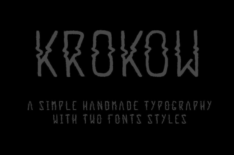 KROKOW-Regular font