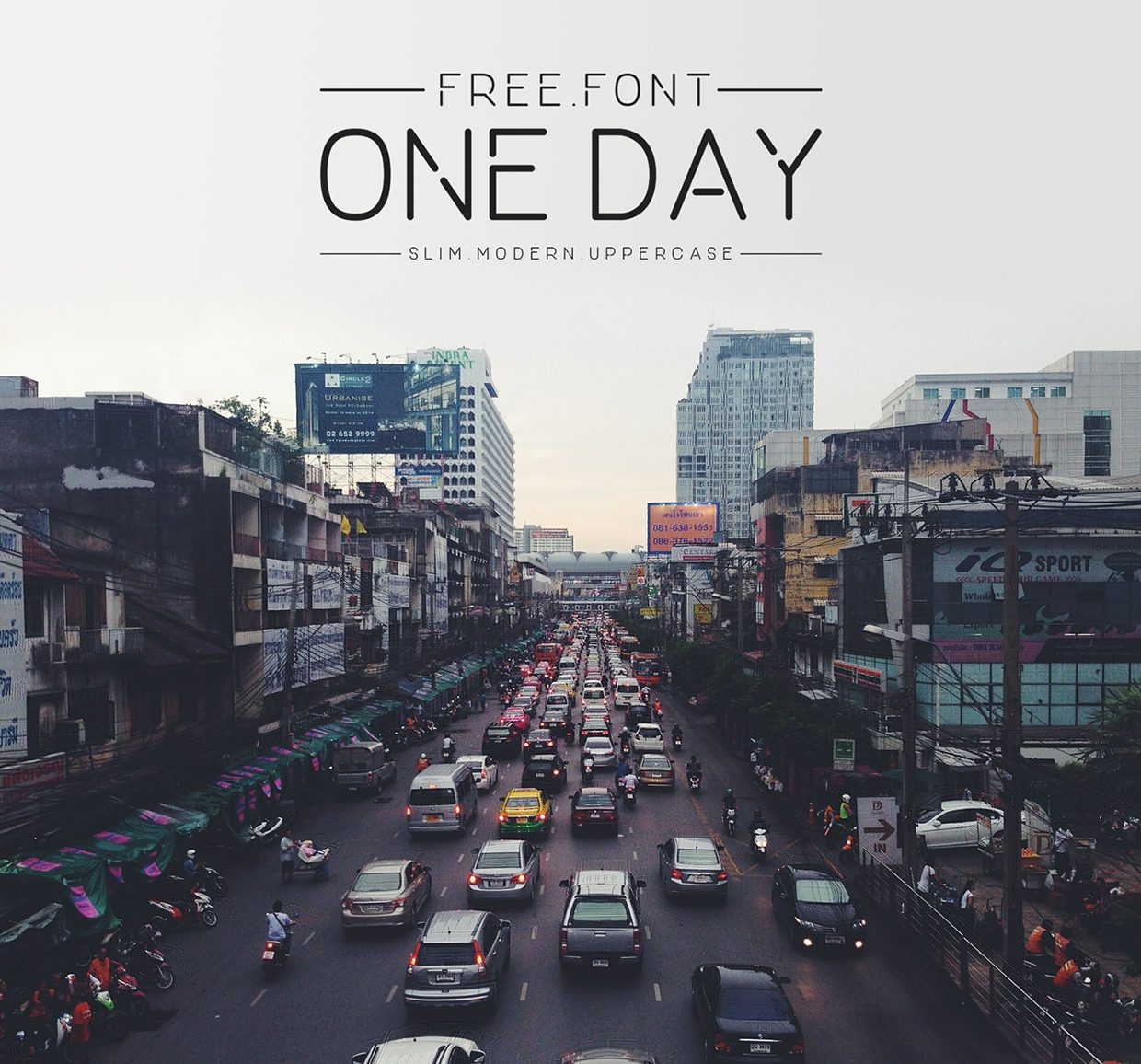 ONE DAY font