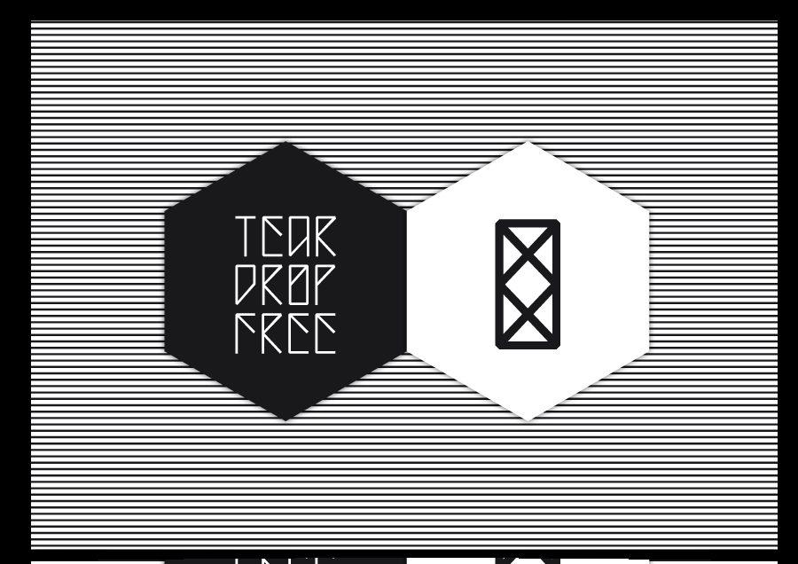 Teardrop by Blastto font