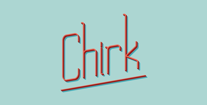 Chirk    Regular font