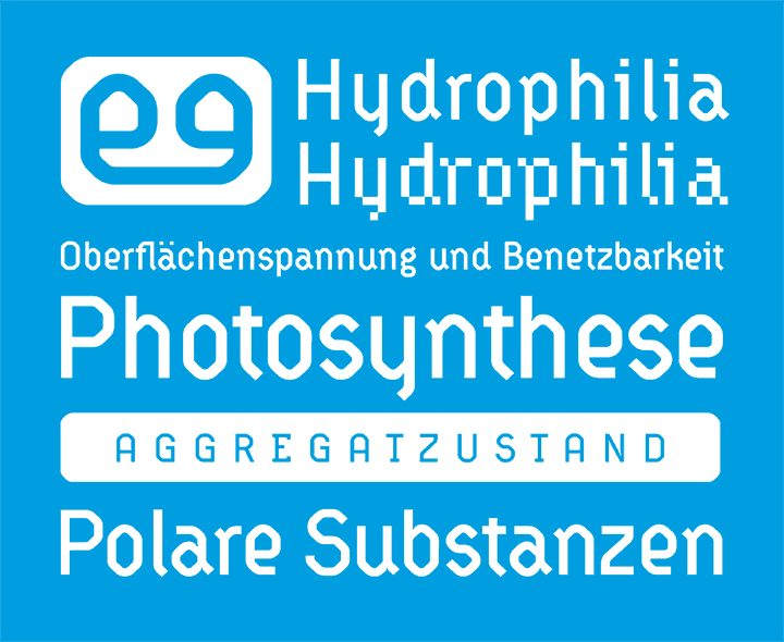 HydrophiliaIced font