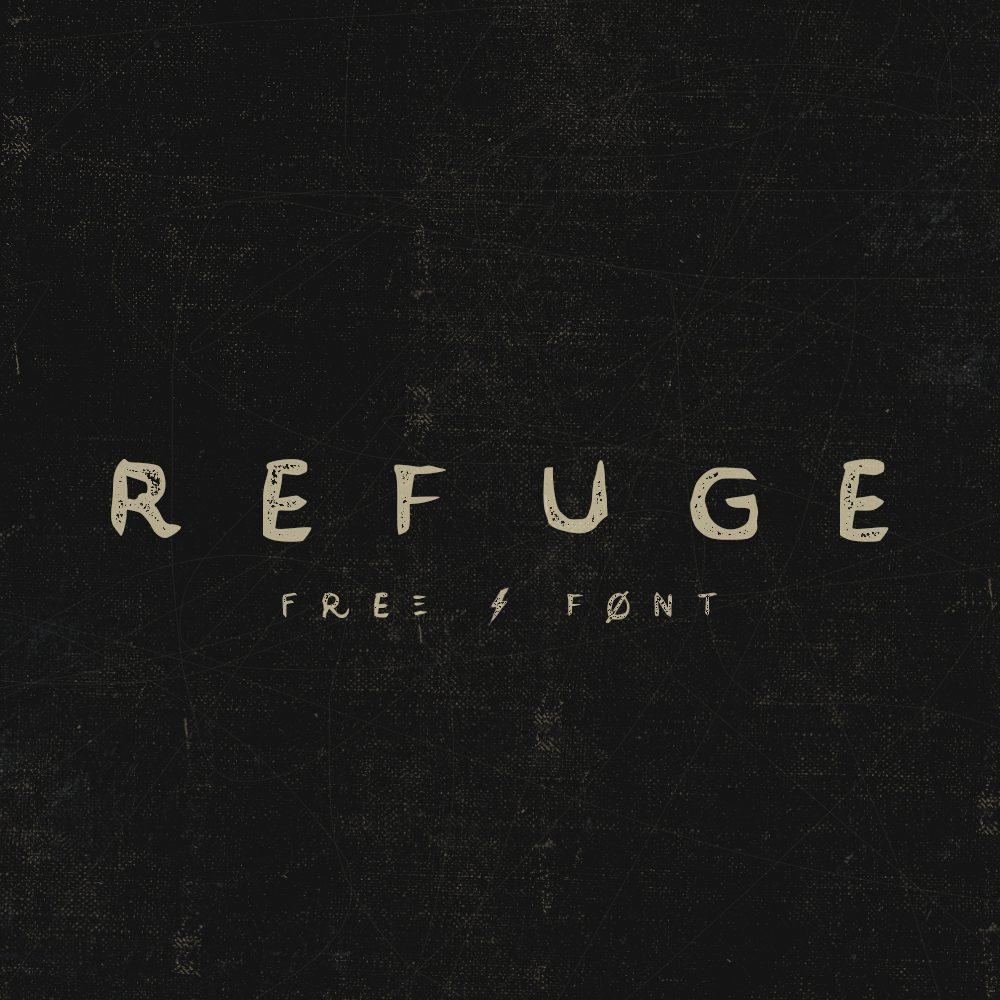 Refuge Medium font