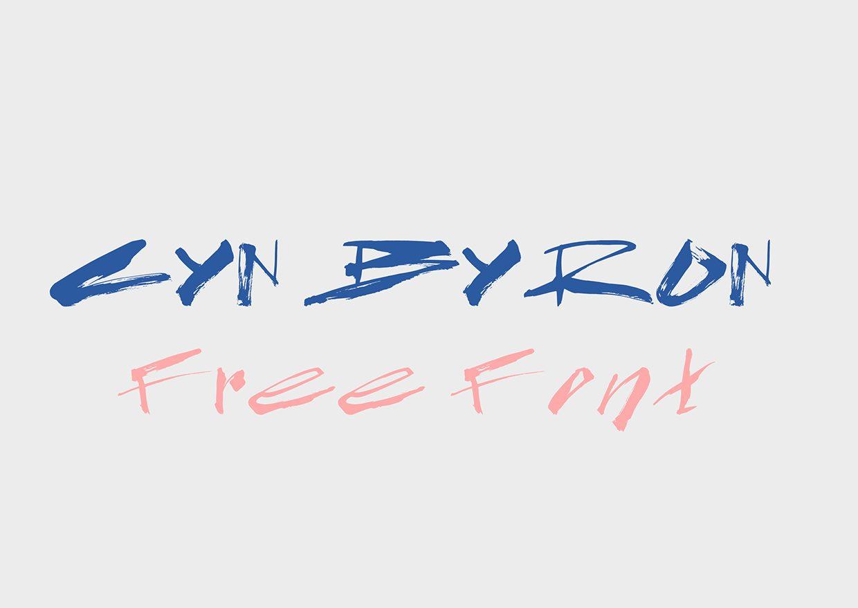 CYN_Byron font