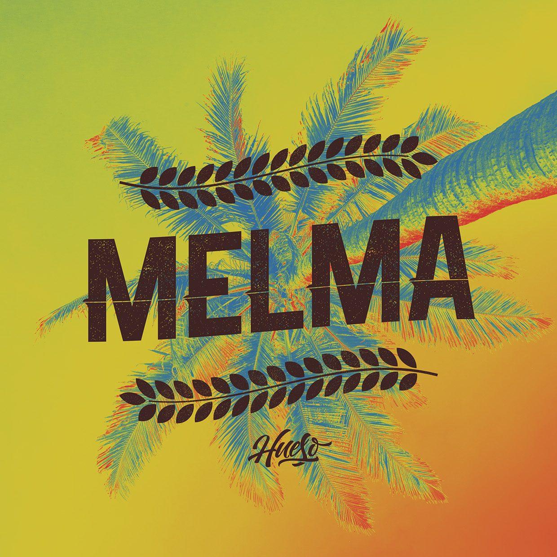 Melma Line font