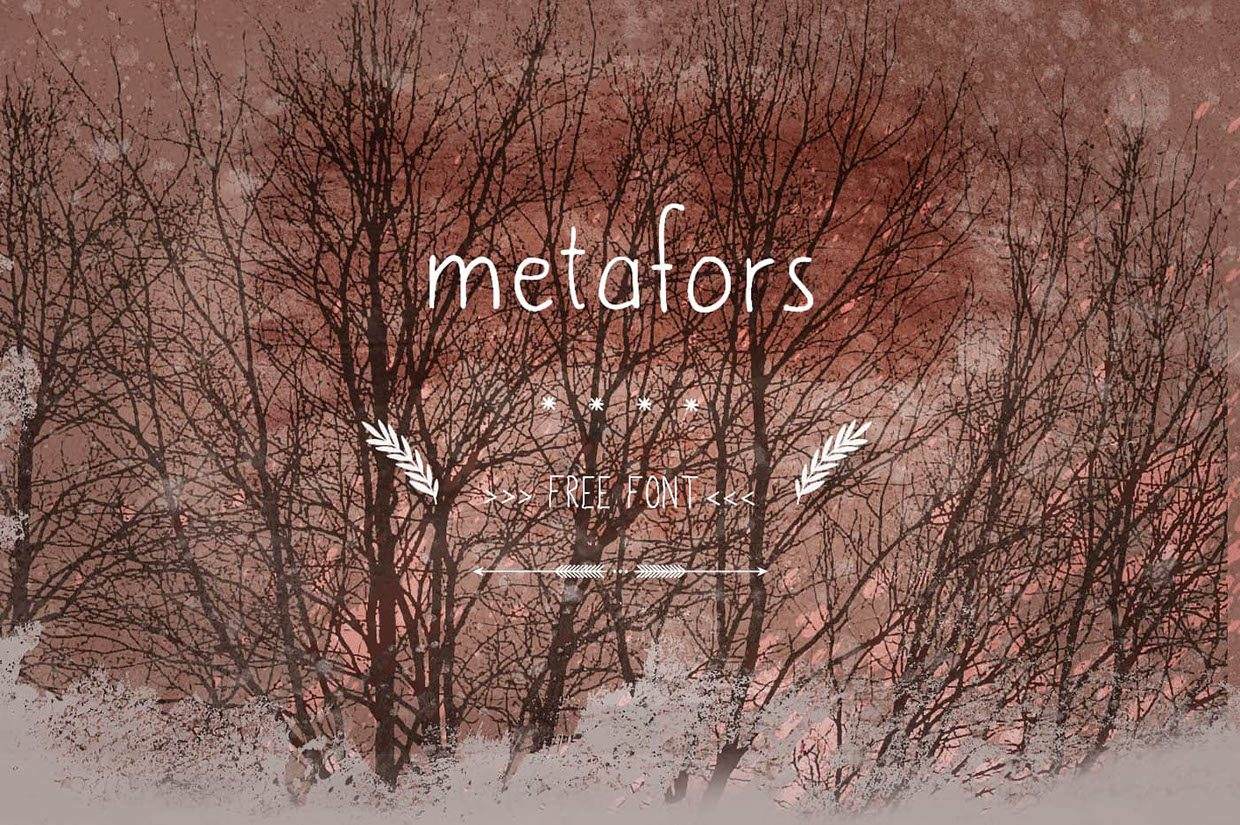 metafors-Regular font