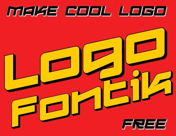Logofontik Extruded 4F Italic font