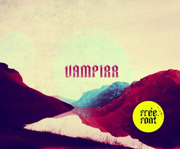 Vampirr Regular font