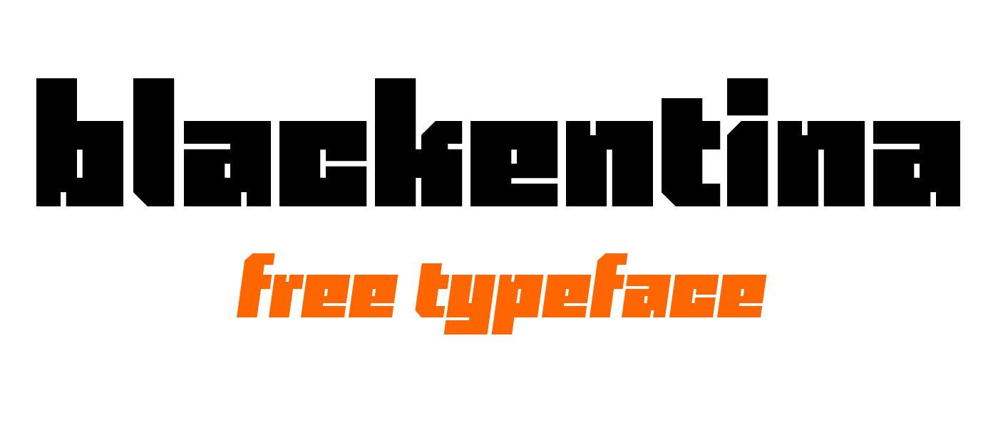 Blackentina4F-Italic font