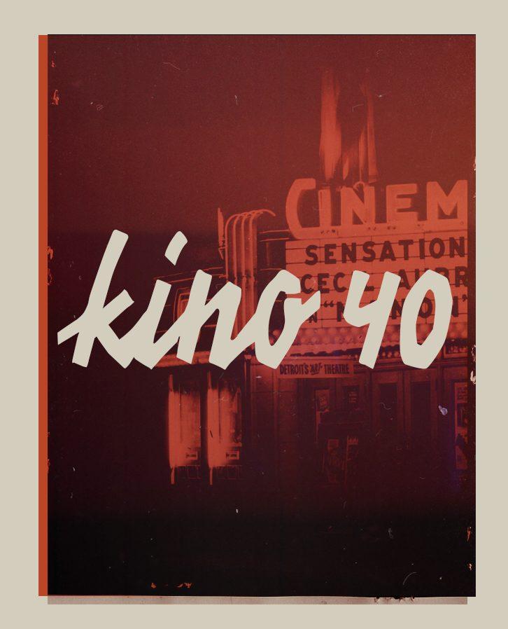 KINO 40 font